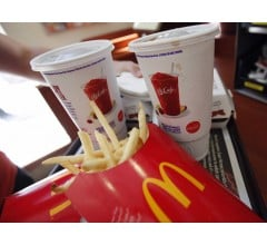Image for McDonald's Comparable Sales in May Drop Less Than Expected