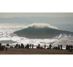Image for Surfer Rides Big Wave to New Record