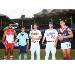 Image for Major League Baseball Opens Season in Australia