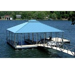 Image for Aluminum is Best for Building Docks and Pontoons