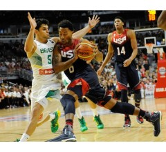 Image for Derrick Rose Returns as Brazil Routed by U.S.