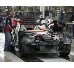 Image for Steep Drop in Output of Autos Lowers Production in Factories