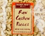 Raw Cashew Pieces Recalled by Trader Joe's for Risk of Salmonella