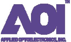 Applied Optoelectronics logo