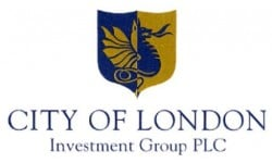 City of London Investment Group logo