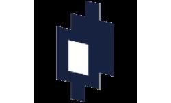 Mirrored Apple logo
