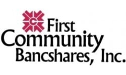 First Community Bankshares logo