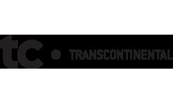 Transcontinental logo