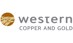 Western Copper and Gold Co. logo