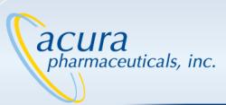 Acura Pharmaceuticals logo