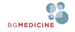 BG Medicine logo