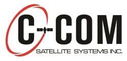 C-Com Satellite Systems logo