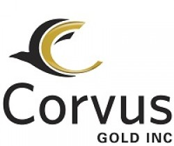 Corvus Gold Inc logo