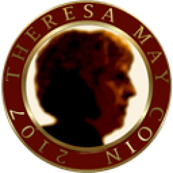 Theresa May Coin logo