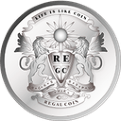 Regalcoin (REC)  Trading 2.2% Lower  Over Last Week