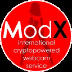 MODEL-X-coin logo