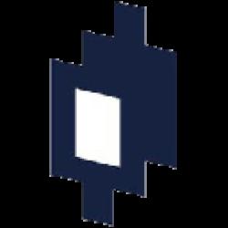 Mirrored Tesla logo