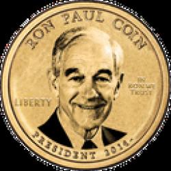 RonPaulCoin logo