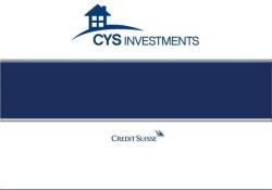 CYS INVESTMENTS/SH SH logo
