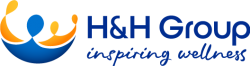 Health and Happiness (H&H) International logo
