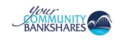 Your Community Bankshares logo